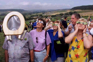 Viewing eclipse of the Sun using filters