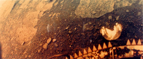 Surface of Venus from Venera 13