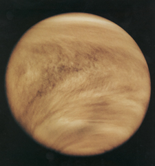 Image of Venus from Pioneer 12/13