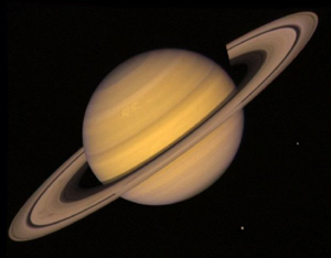 Saturn from Voyager